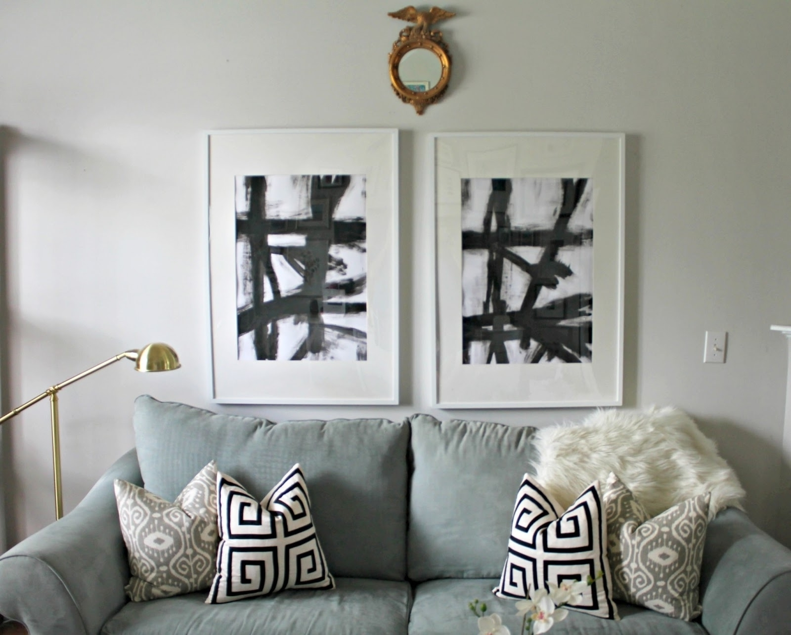 Current West Elm Wall Art For West Elm Abstract Art Displaying Gallery Of West Elm Abstract Wall (View 3 of 20)
