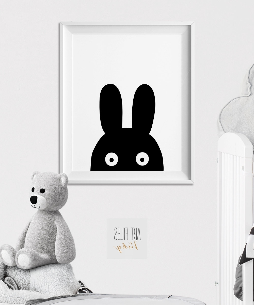 Current Winsome Bunny Wall Art – Ishlepark Throughout Bunny Wall Art (View 9 of 20)