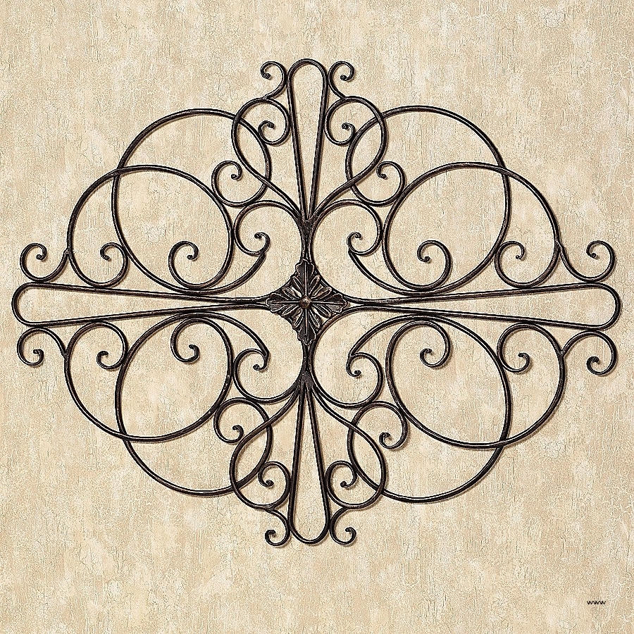 Current Wrought Iron Wall Art Intended For Wall Art (View 4 of 15)
