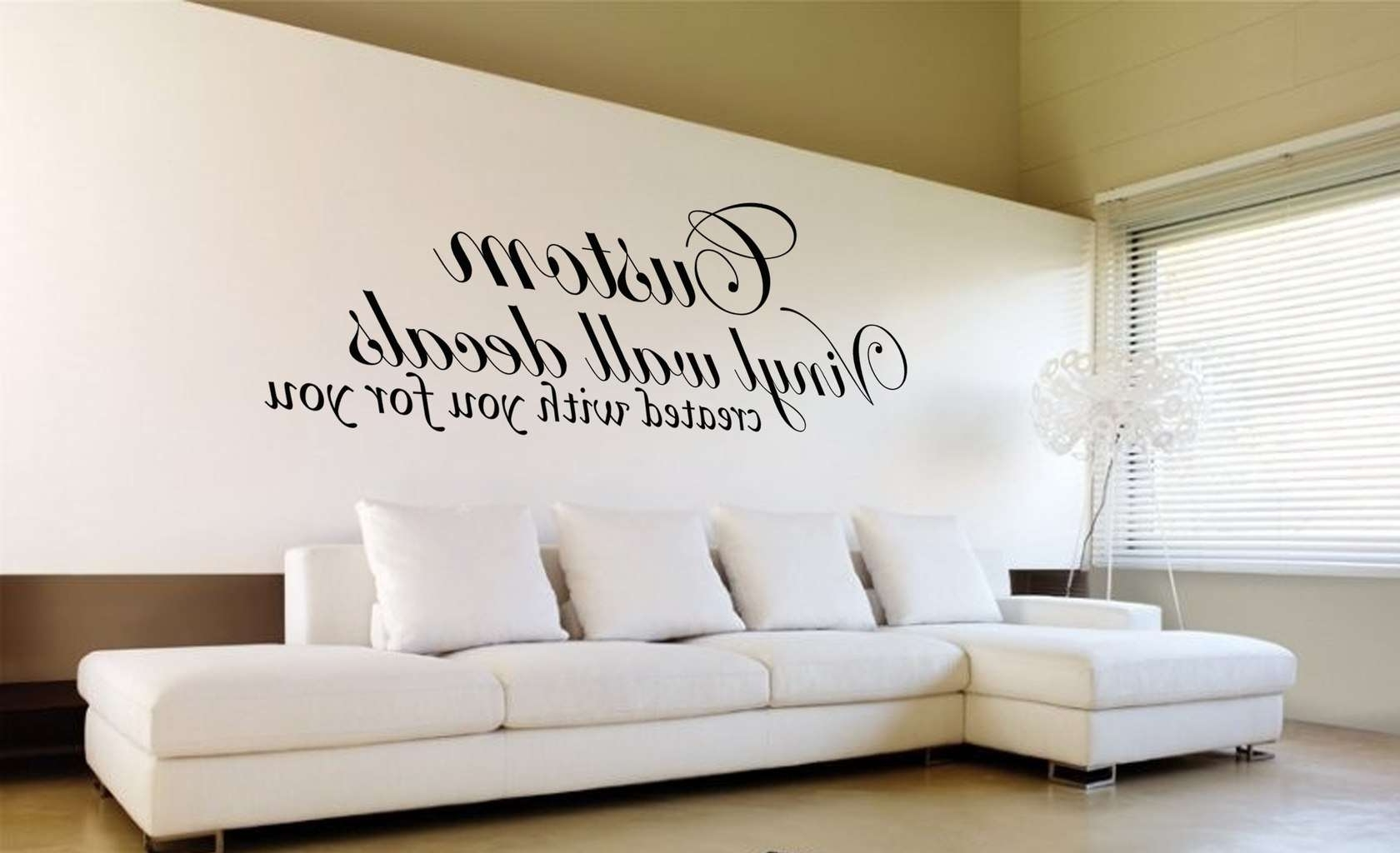 Custom Wall Art Decal Sticker (View 4 of 20)