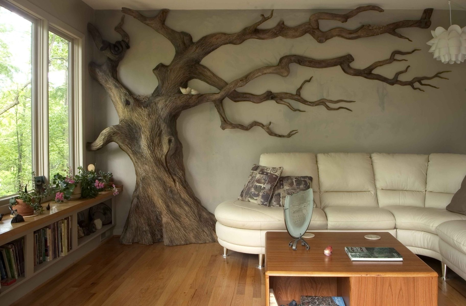 Custom Wall Art Regarding Most Recently Released Carved Wood Tree Wall Art Custom Made Carved Wall Art (View 8 of 20)