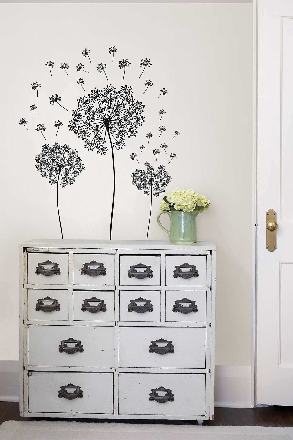 Dandelion Wall Art Sticker Kit Throughout 2018 Dandelion Wall Art (Gallery 18 of 20)