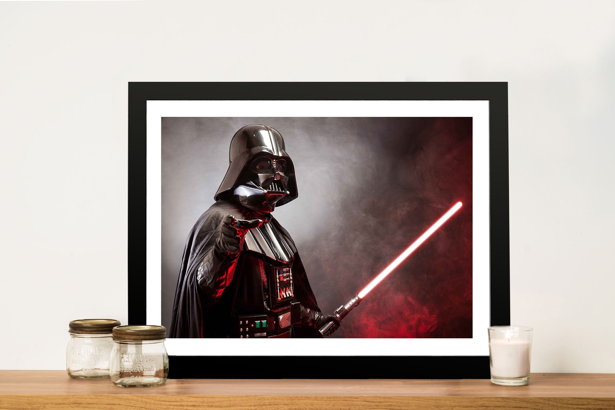 Darth Vader Wall Art Pertaining To Widely Used Darth Star Wars Canvas Print (View 6 of 20)