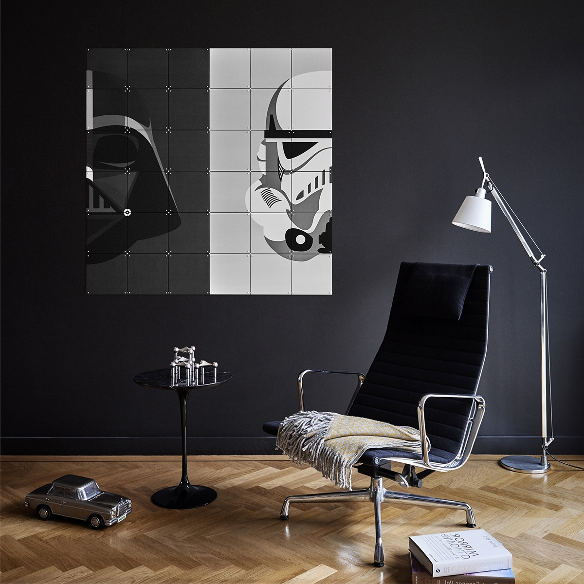 Darth Vader Wall Art With Widely Used Star Wars Stormtrooper/darth Vader Wall Art Panels – The Basiq (Gallery 3 of 20)