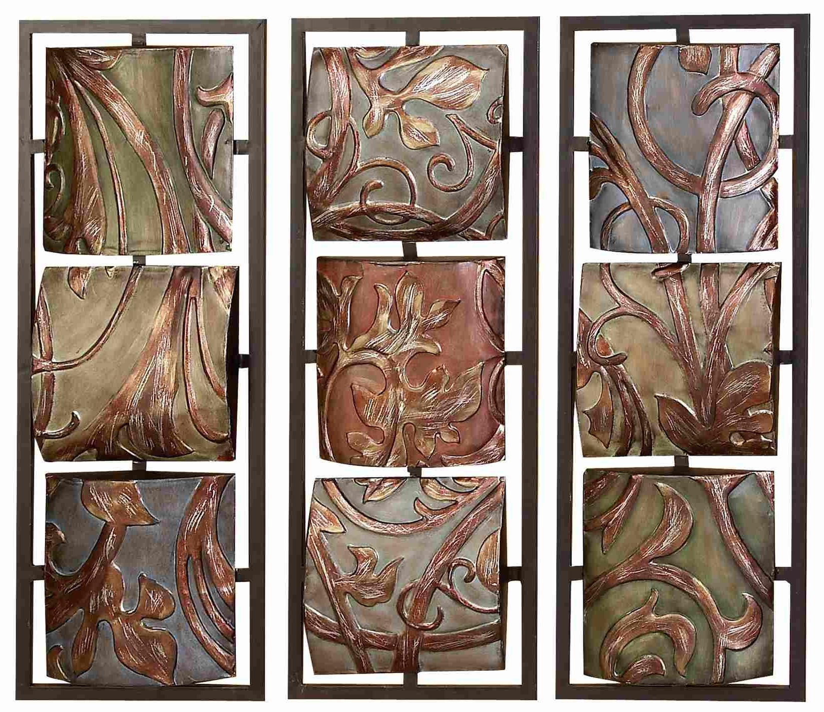 Decorative Metal Wall Art Panels – Emiliesbeauty – With Widely Used Wood And Metal Wall Art (View 2 of 20)