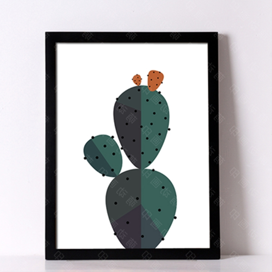 Desert Cactus Wall Art Print Decorative Wall Painting , Cactus Regarding Trendy Cactus Wall Art (Gallery 12 of 20)