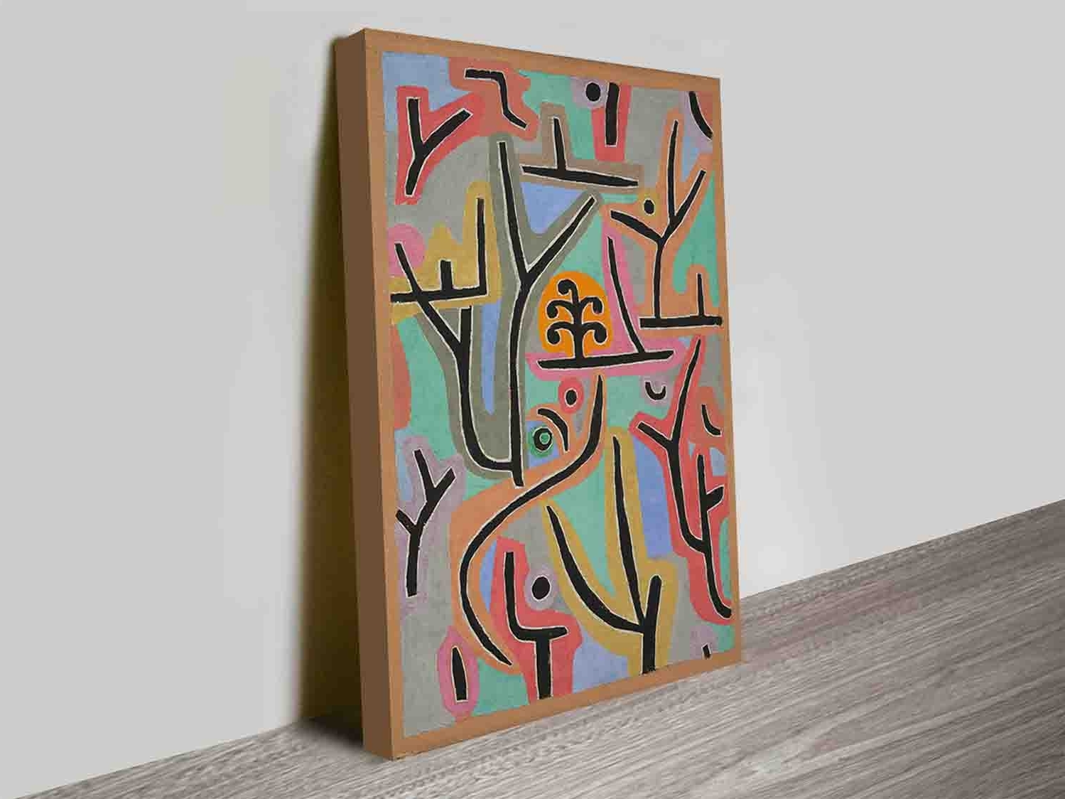 Discount Wall Art Inside Newest Park Bei Lupaul Klee Modern Artist Discount Wall Art Canvas Prints (View 17 of 20)