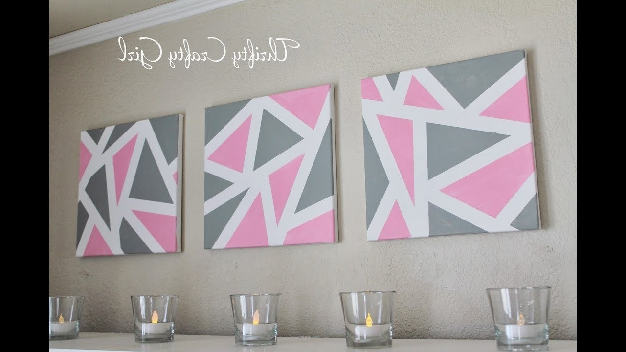 Diy Abstract Metallic Wall Art (View 11 of 15)