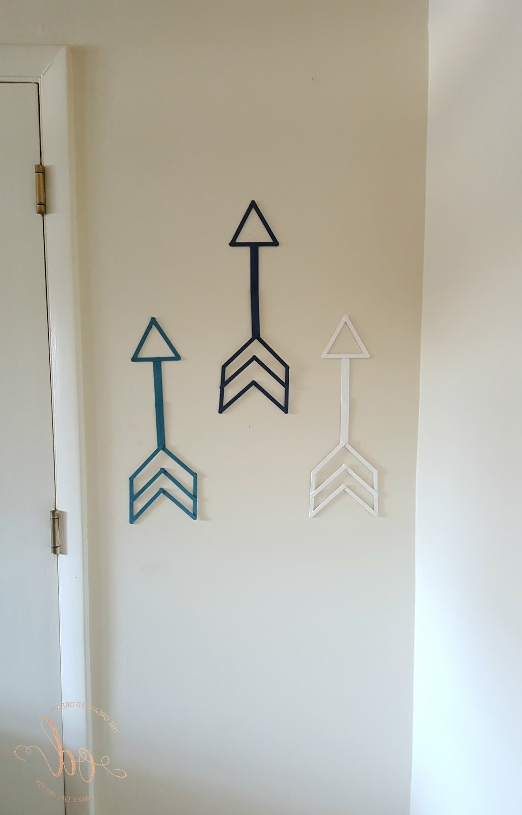 Diy Arrow Wall Art – The Organized Dream For Well Known Arrow Wall Art (View 10 of 20)