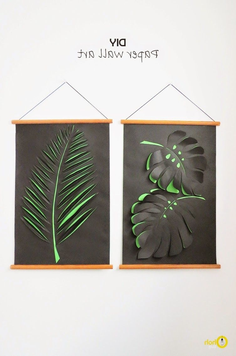 Diy Paper Wall Art (View 5 of 15)