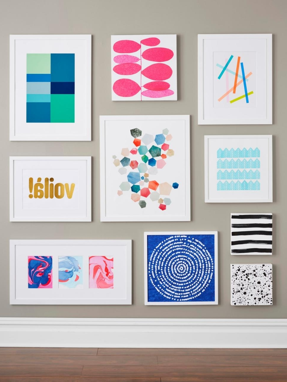 Diy Wall Art Inside Latest Diy Wall Art Diy Wall Art Projects Anyone Can Do Hgtv (Gallery 10 of 15)