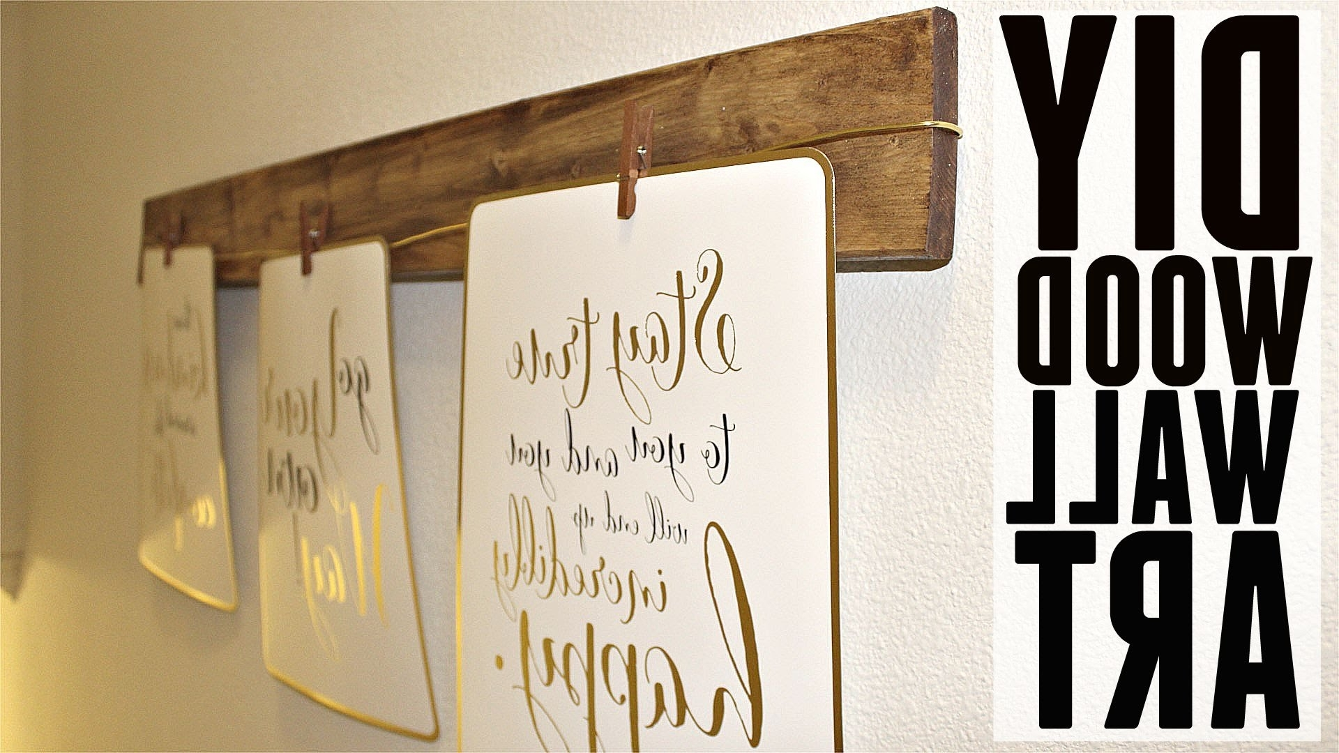 Featured Photo of Wood Wall Art Diy