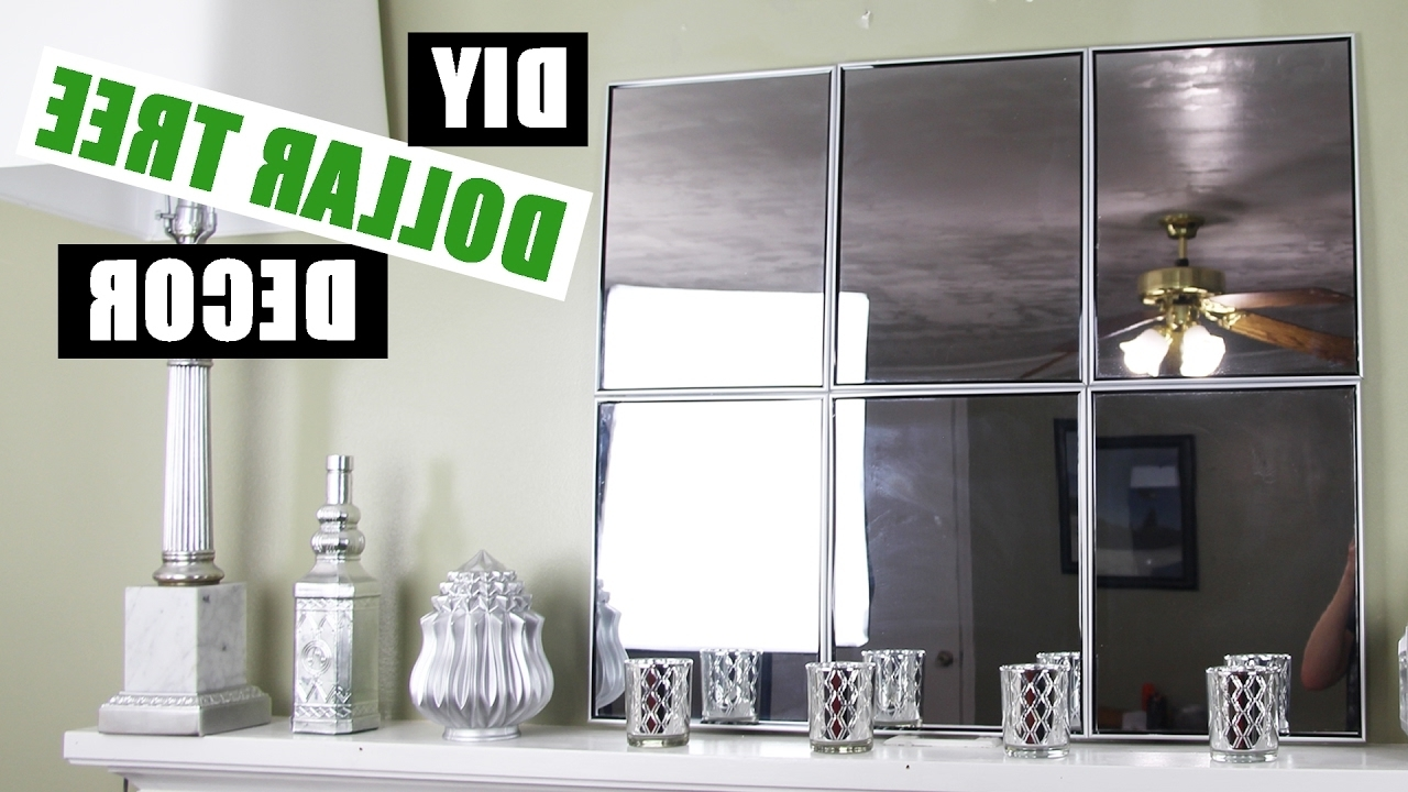 Dollar Store Diy Mirror Room Decor Intended For Newest Inexpensive Wall Art (View 3 of 20)