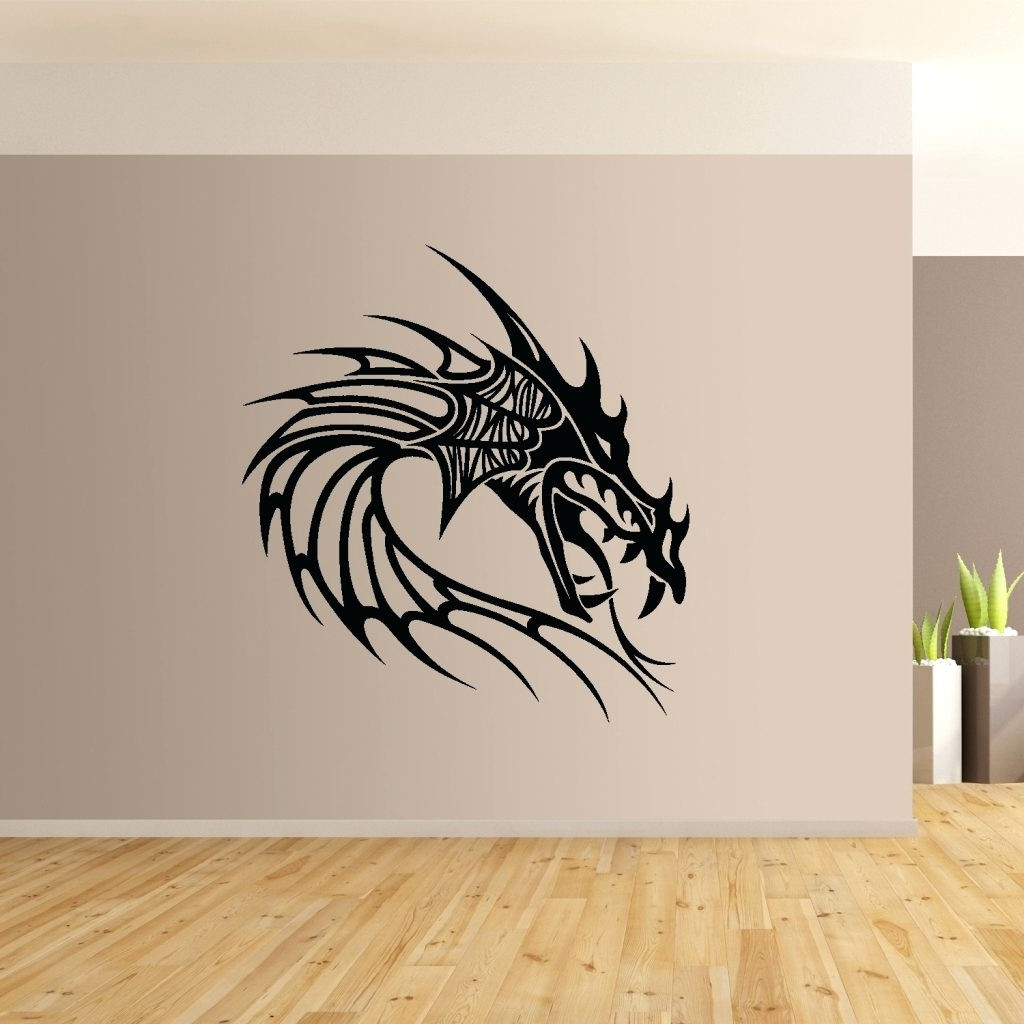 Dragon Wall Art For Most Recently Released Dragon Wall Art Marvelous Dragon Wall Art – Wall Decoration Ideas (Gallery 5 of 20)