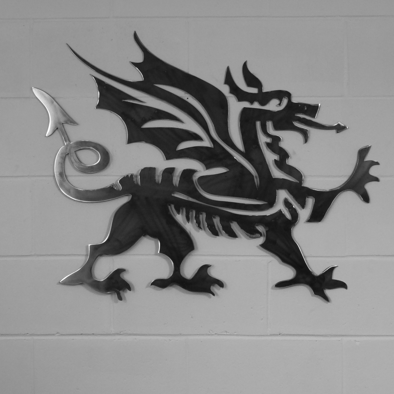 Dragon Wall Art Intended For 2018 Home & Garden :: Metal Wall Art :: Cymru Welsh Dragon Style Metal (View 9 of 20)