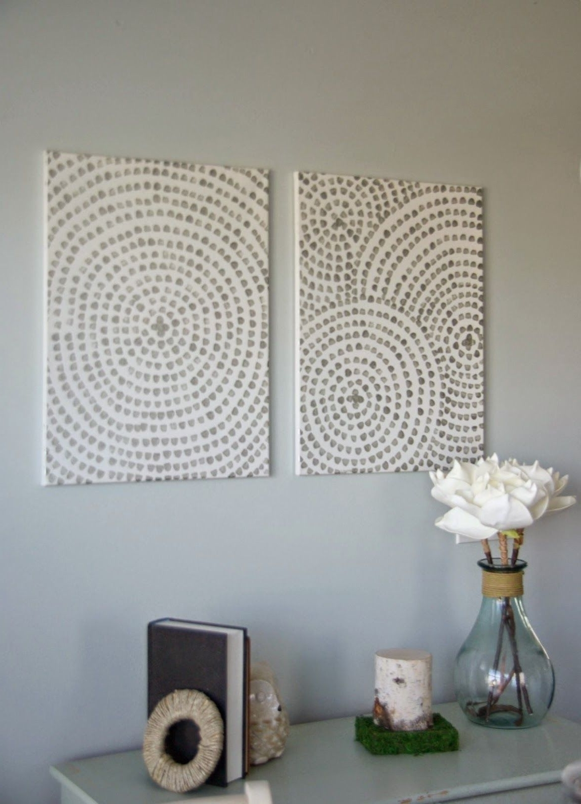 Easy Canvas Wall Art, Making Diy Wall Art Is Simple And Inexpensive Within Recent Inexpensive Wall Art (View 4 of 20)
