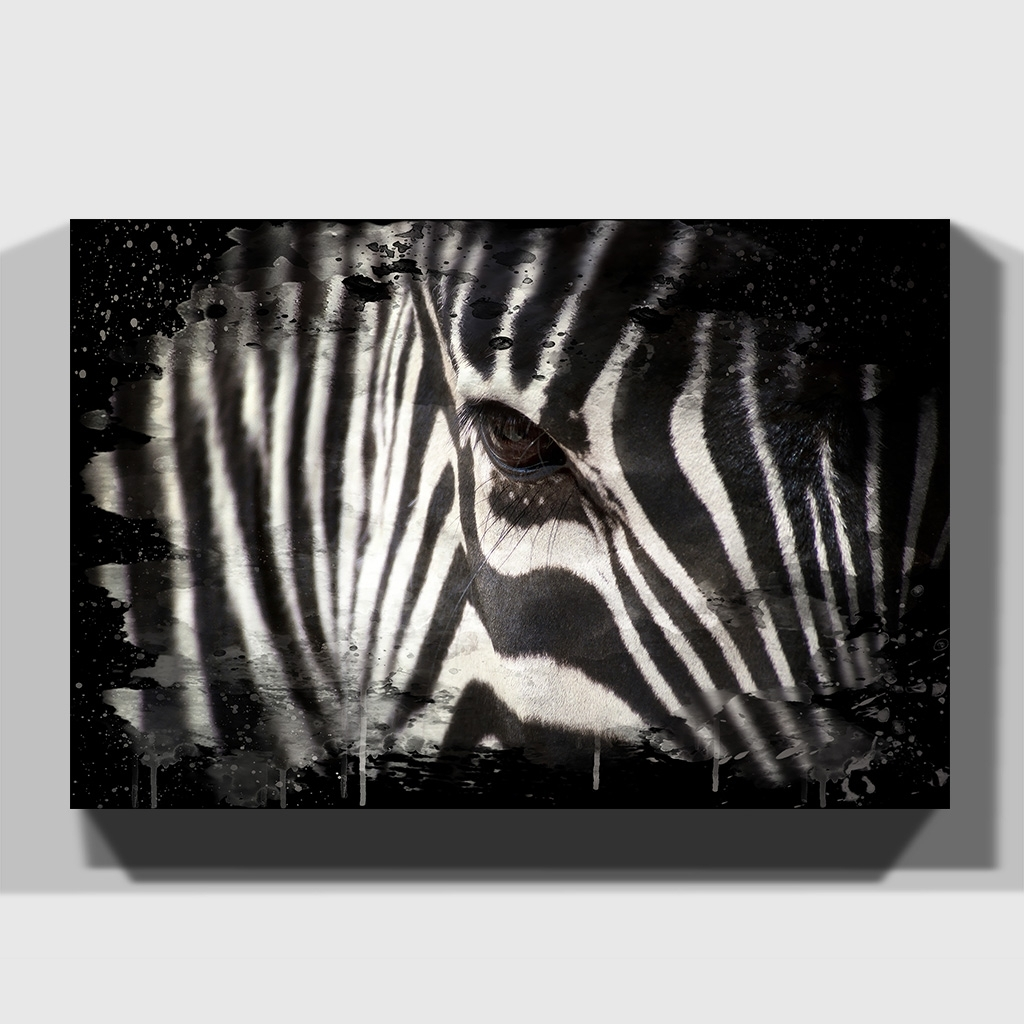 Ebay Inside Most Up To Date Zebra Canvas Wall Art (View 5 of 20)