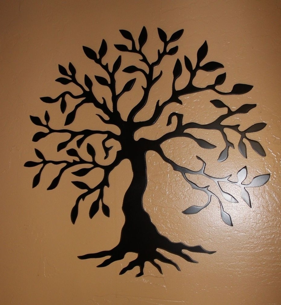 Ebay With Most Popular Tree Of Life Metal Wall Art (View 8 of 20)