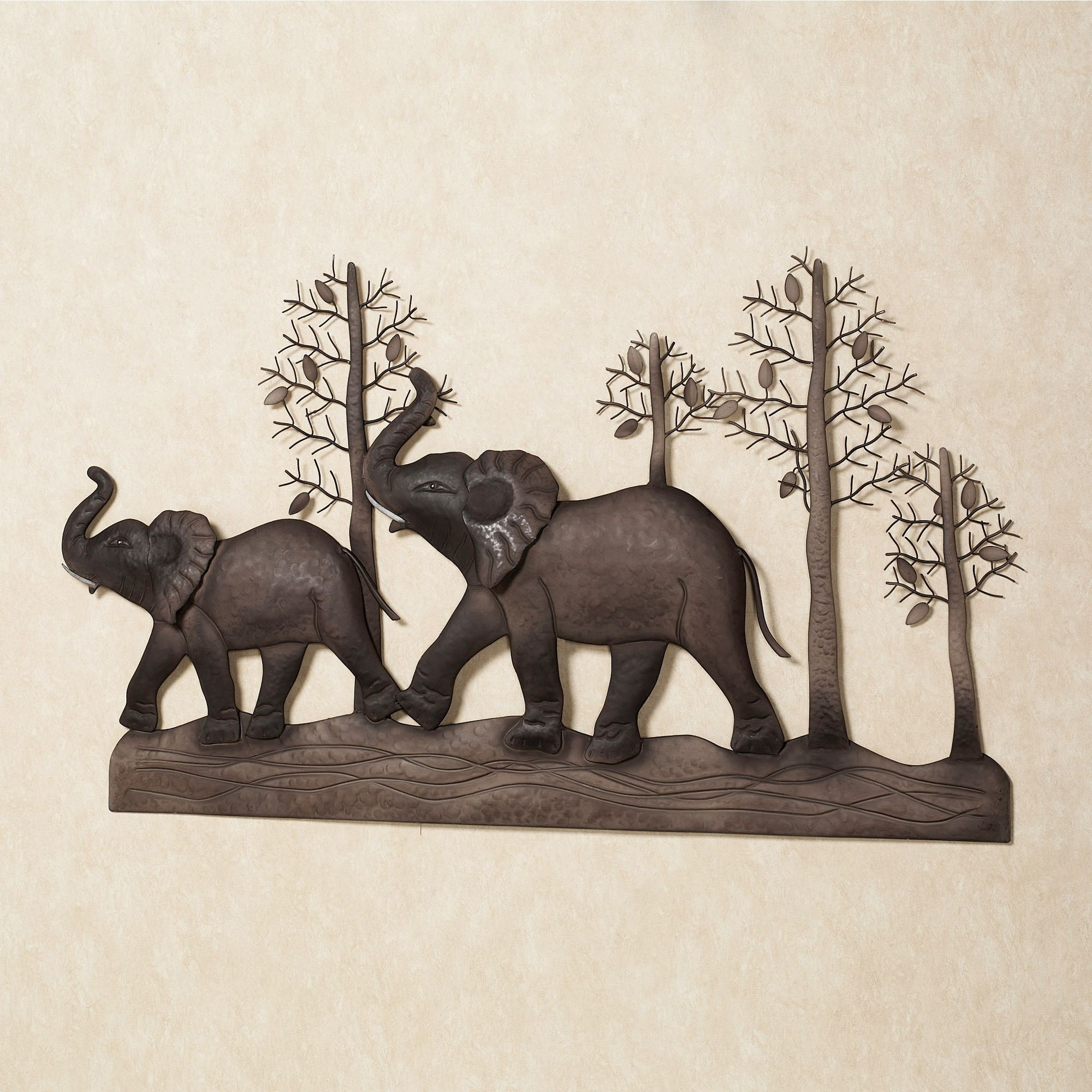 Elephant Wall Art Throughout Trendy Elephant Metal Wall Art (View 9 of 15)