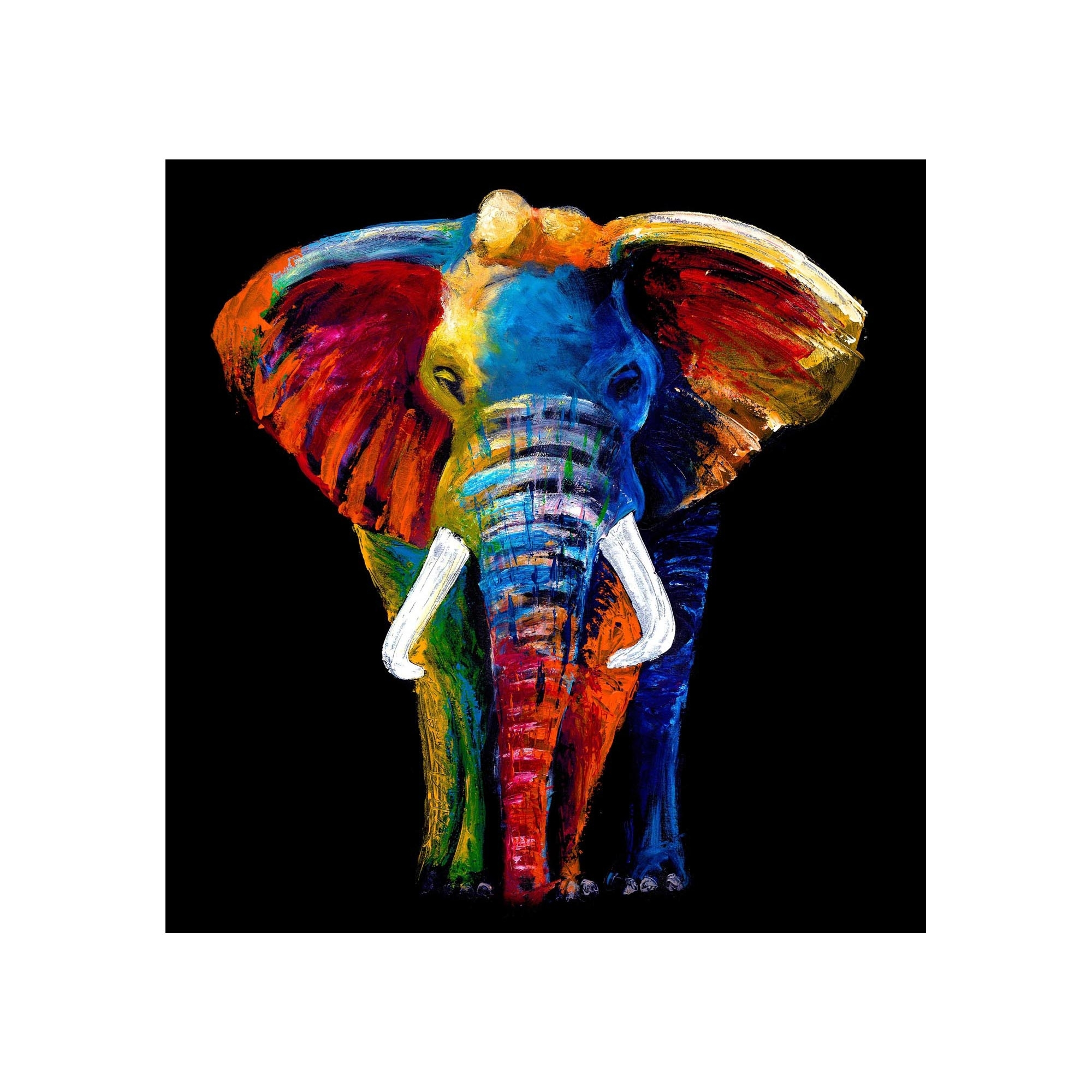 Elephant Wall Art With Regard To Well Known Glass Art (Gallery 15 of 15)