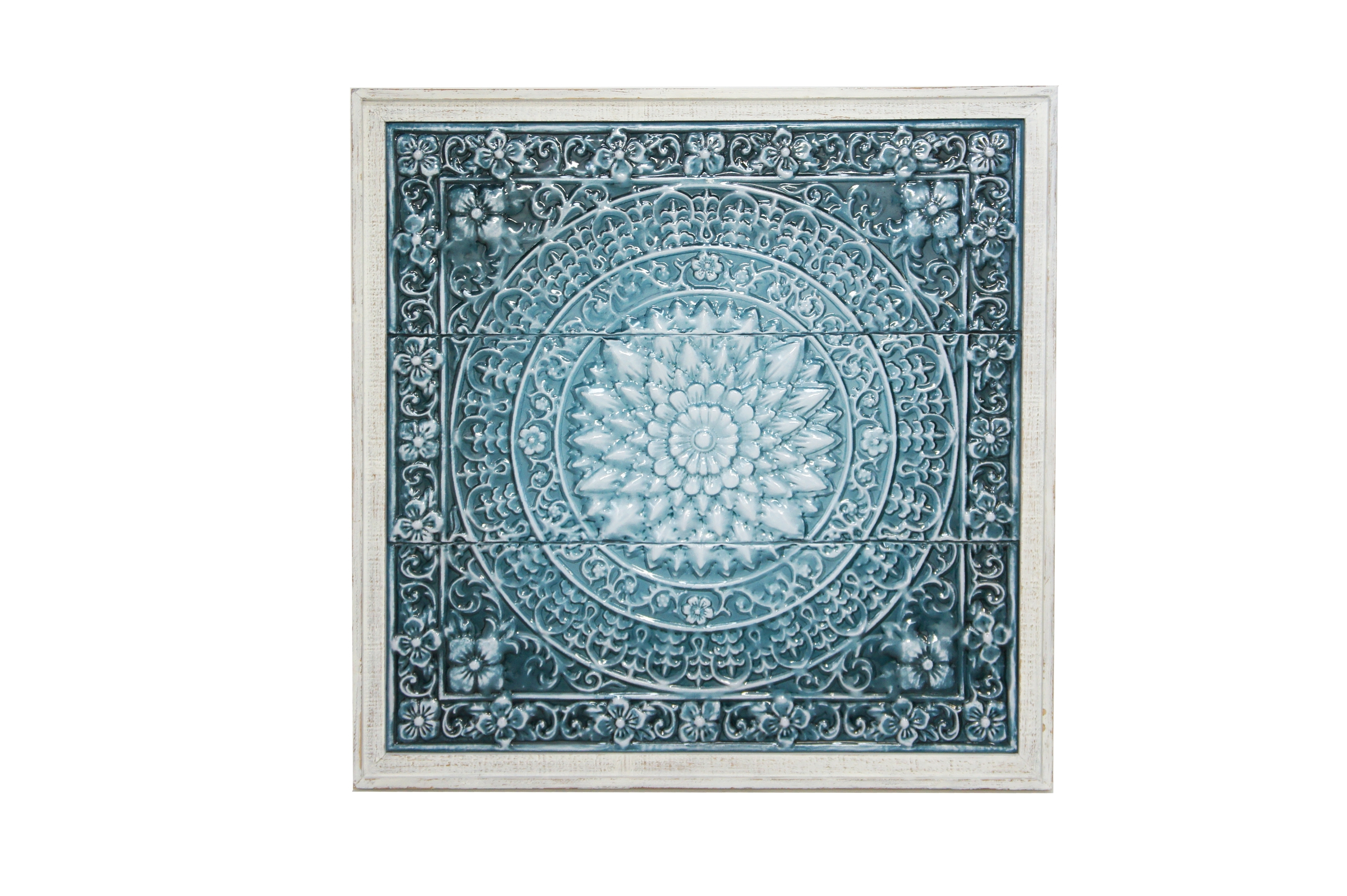 Esher Turquoise Wall Art (In Store Only) – Seaweed And Sand Intended For Most Current Turquoise Wall Art (View 5 of 20)