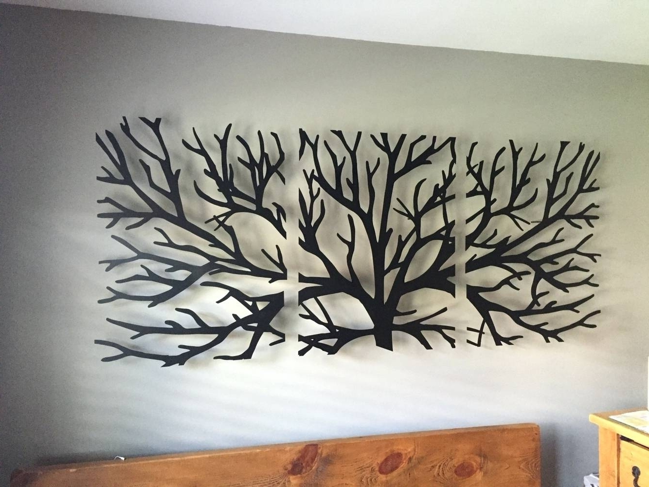 Extra Large Metal Wall Art Awesome Best 20 Of With Crystals 2 In Popular Black Metal Wall Art (Gallery 14 of 20)
