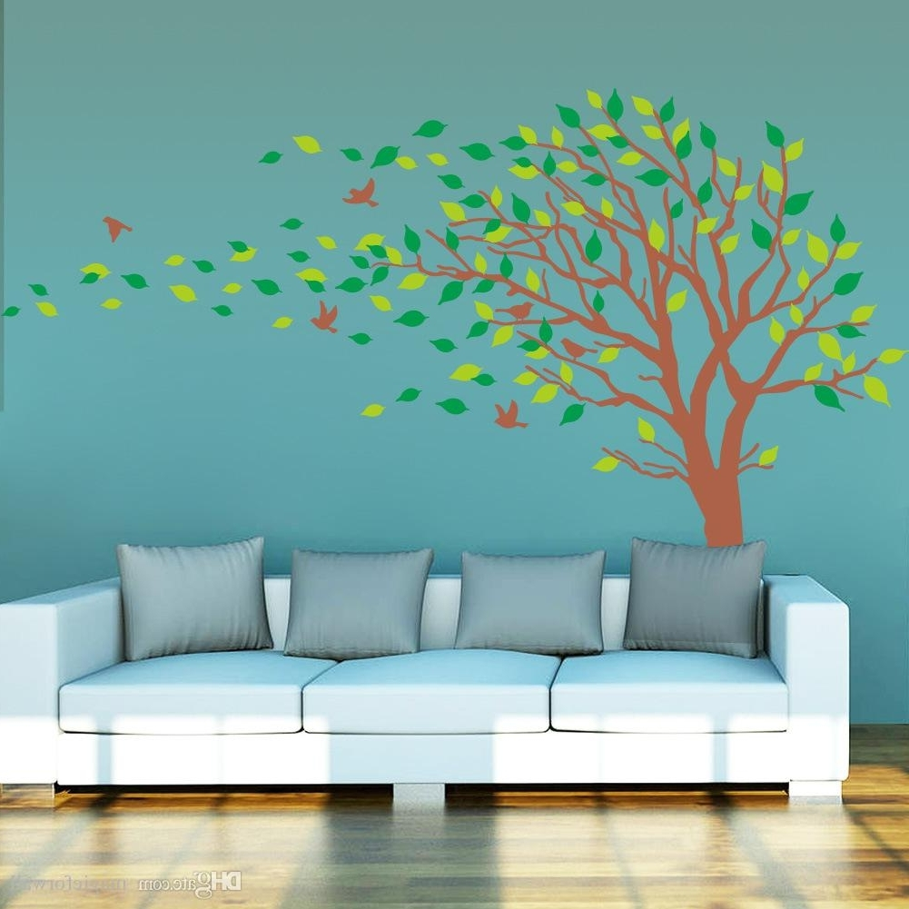 Extra Large Tree Wall Art Mural Decal Sticker Living Room Bedroom With Regard To Preferred Extra Large Wall Art (View 2 of 20)