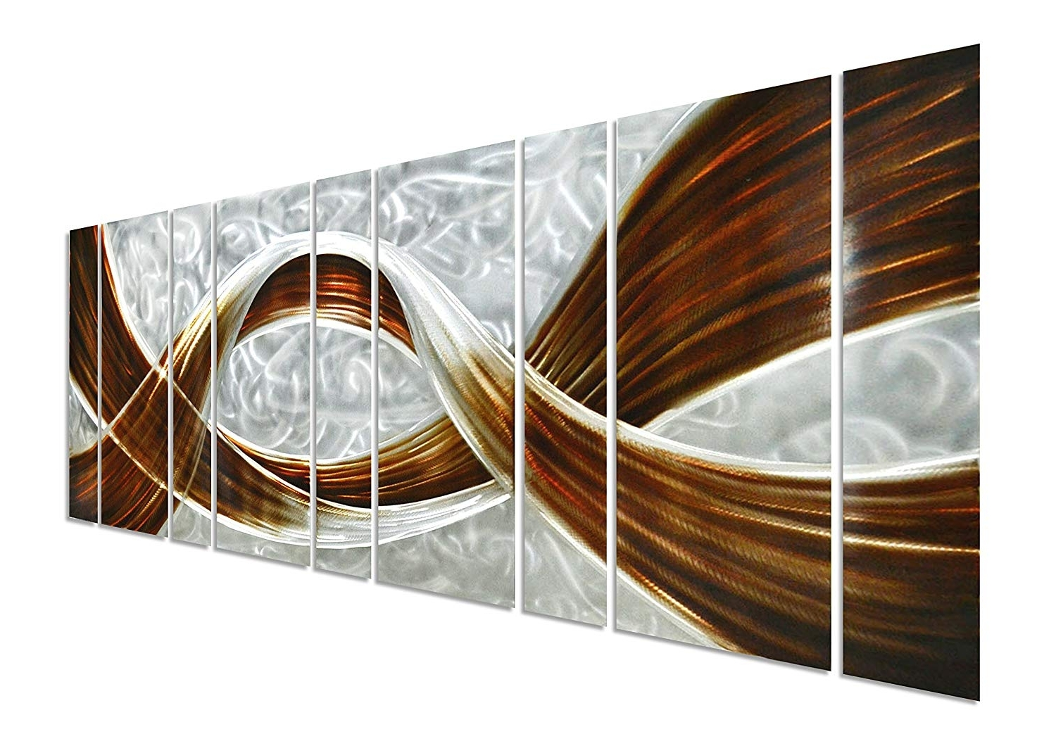 Famous Amazon: Pure Art Caramel Desire Metal Wall Art, Giant Scale With Regard To Large Metal Wall Art (View 2 of 15)