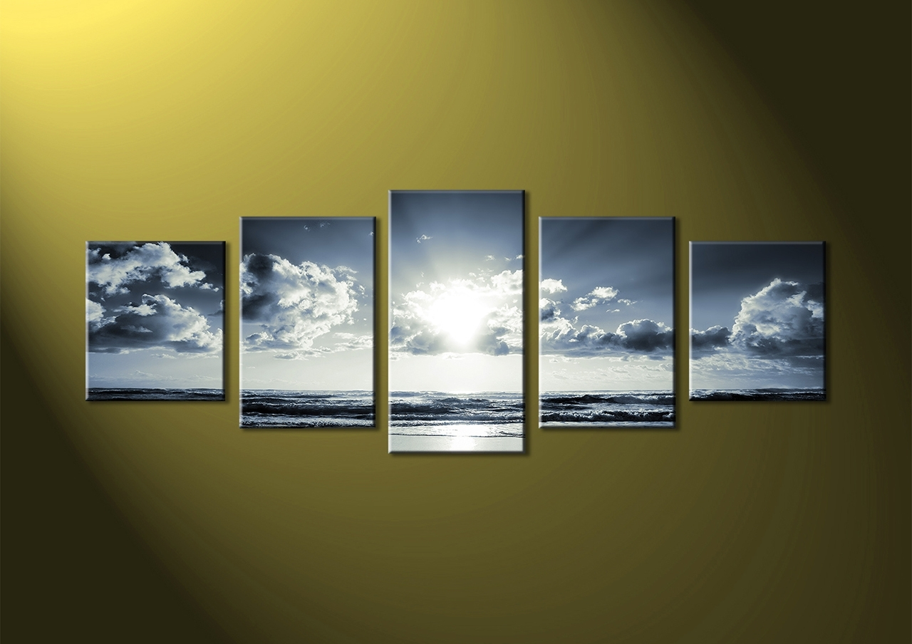 Famous Bold And Modern 5 Piece Wall Art Small Home Decoration Ideas Black Throughout Multi Piece Wall Art (View 5 of 20)