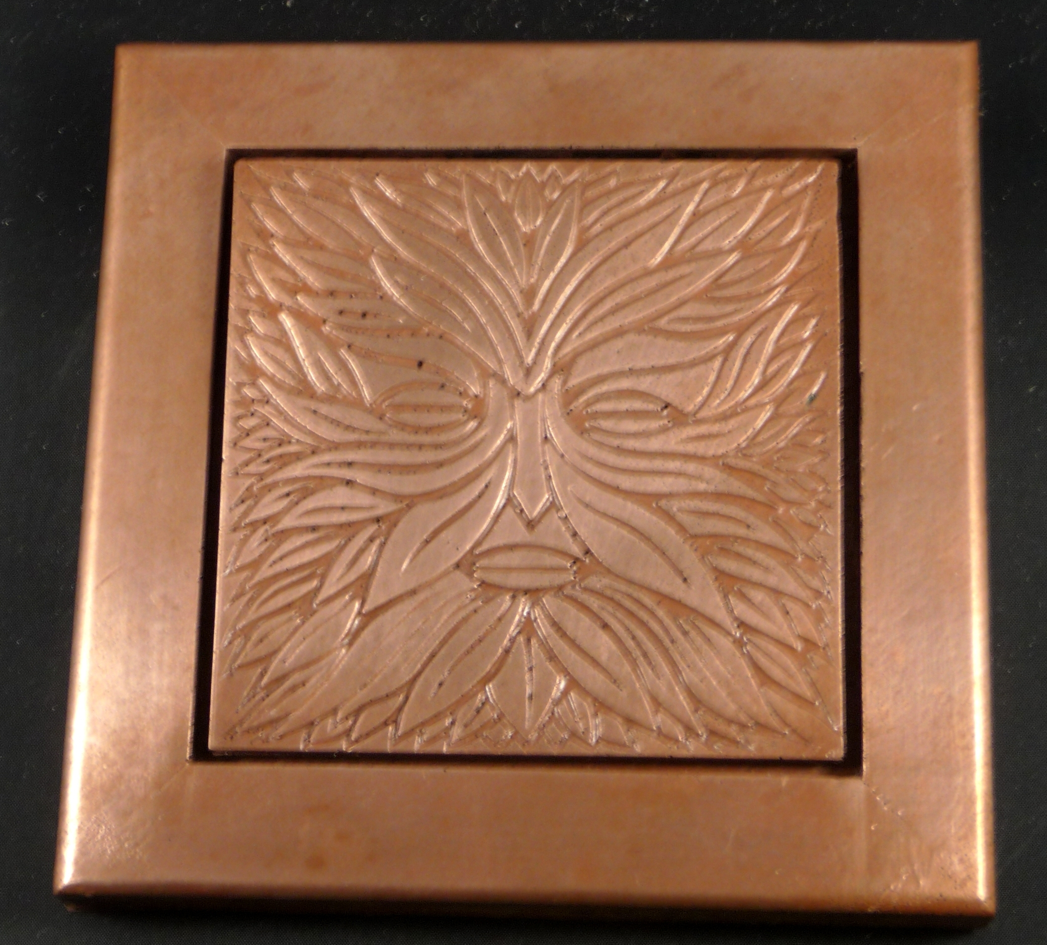 Famous Copper Wall Art Within Copper Tile Wall Decor (Gallery 10 of 15)