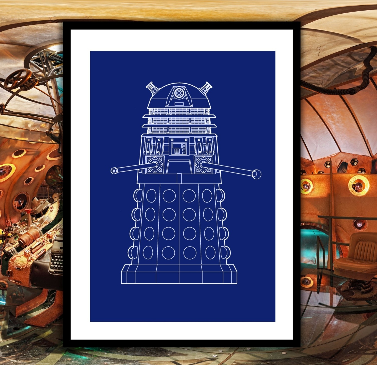 Famous Doctor Who Wall Art With Doctor Who Dalek Patent, Dr (View 10 of 15)