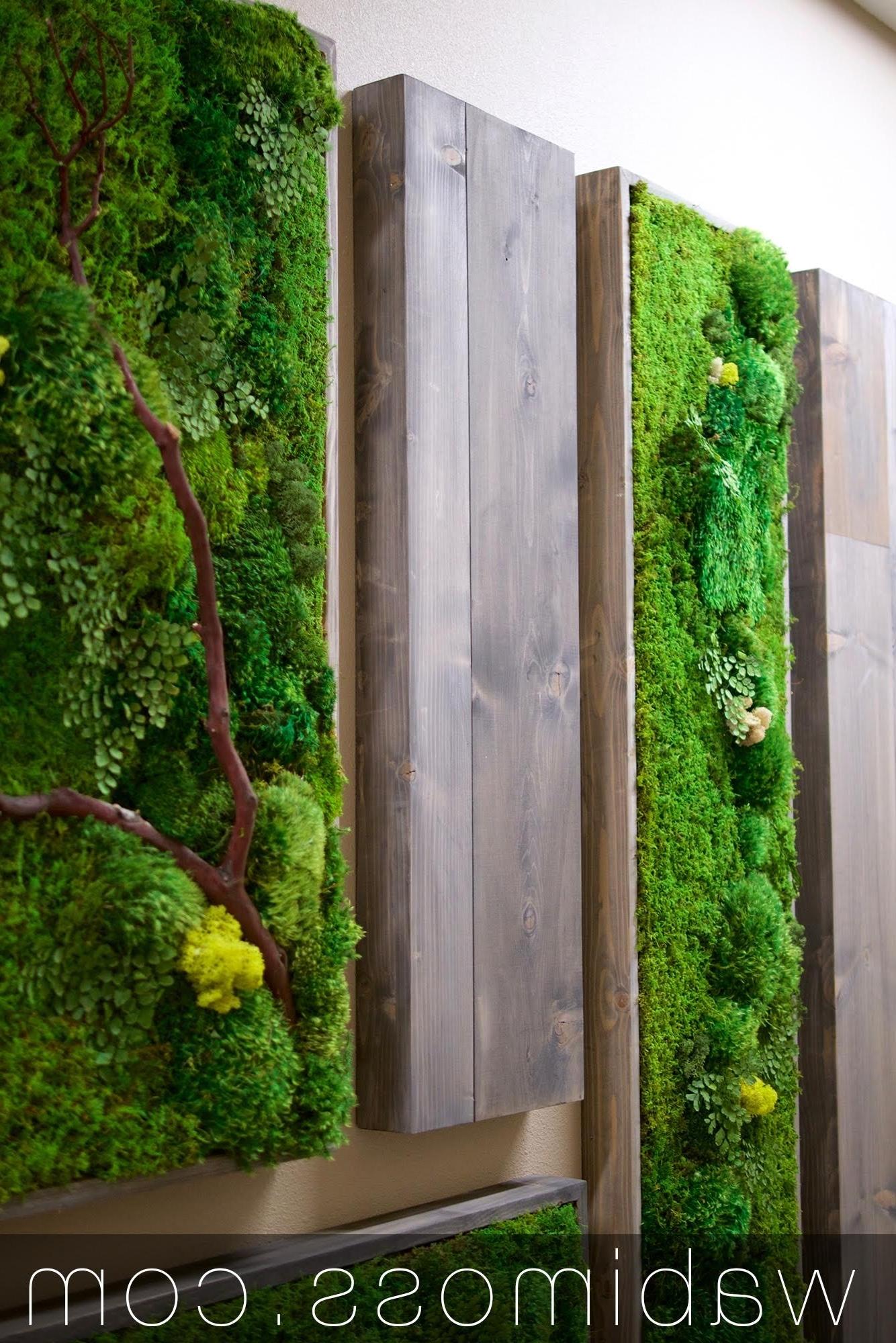 Famous Moss Wall Art Regarding Moss Art Archives – Wabimoss (View 4 of 20)