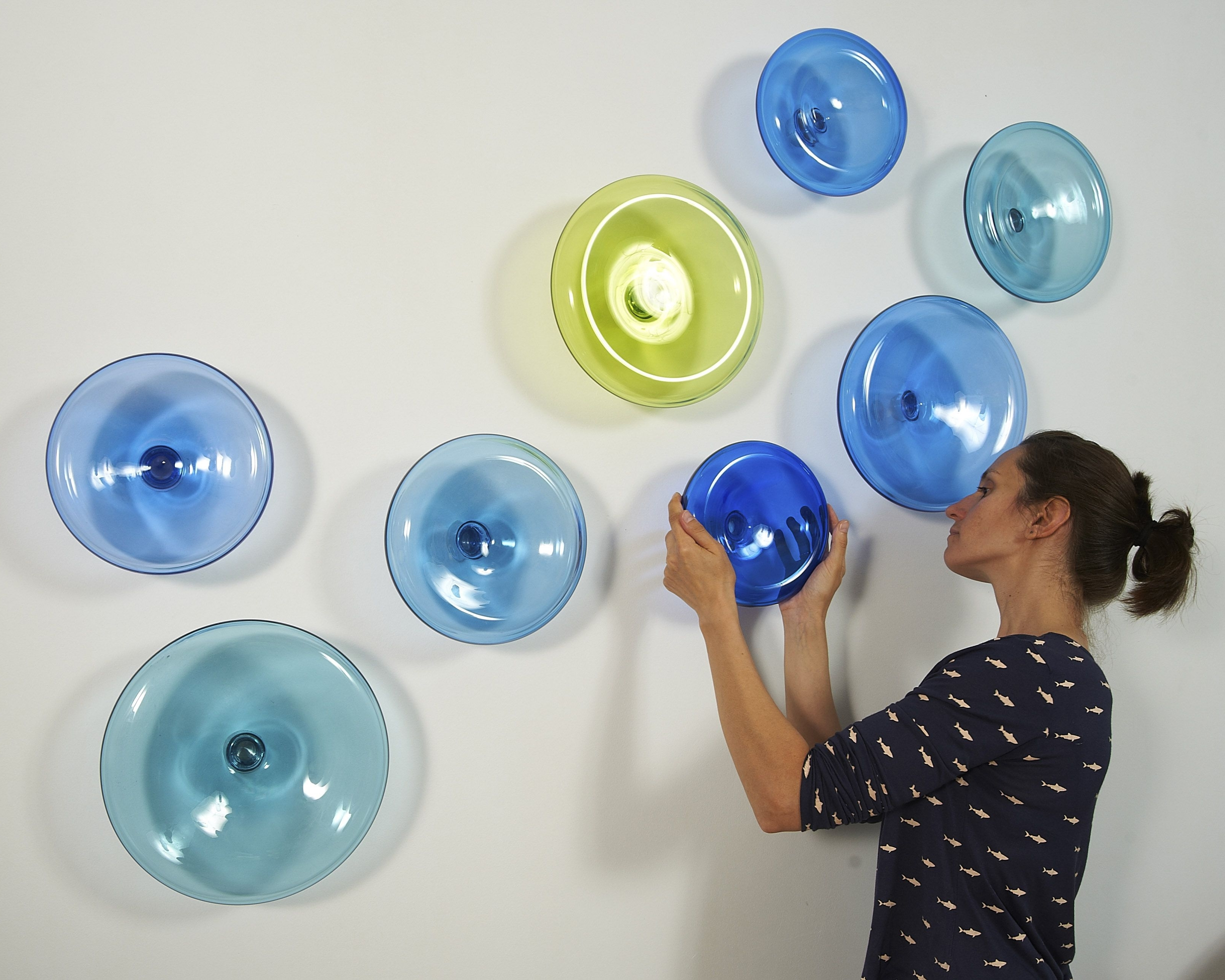Famous Mother Ideas: Glass Plate Wall Art, 3D Wall Artalvitra Design In Glass Plate Wall Art (Gallery 10 of 20)