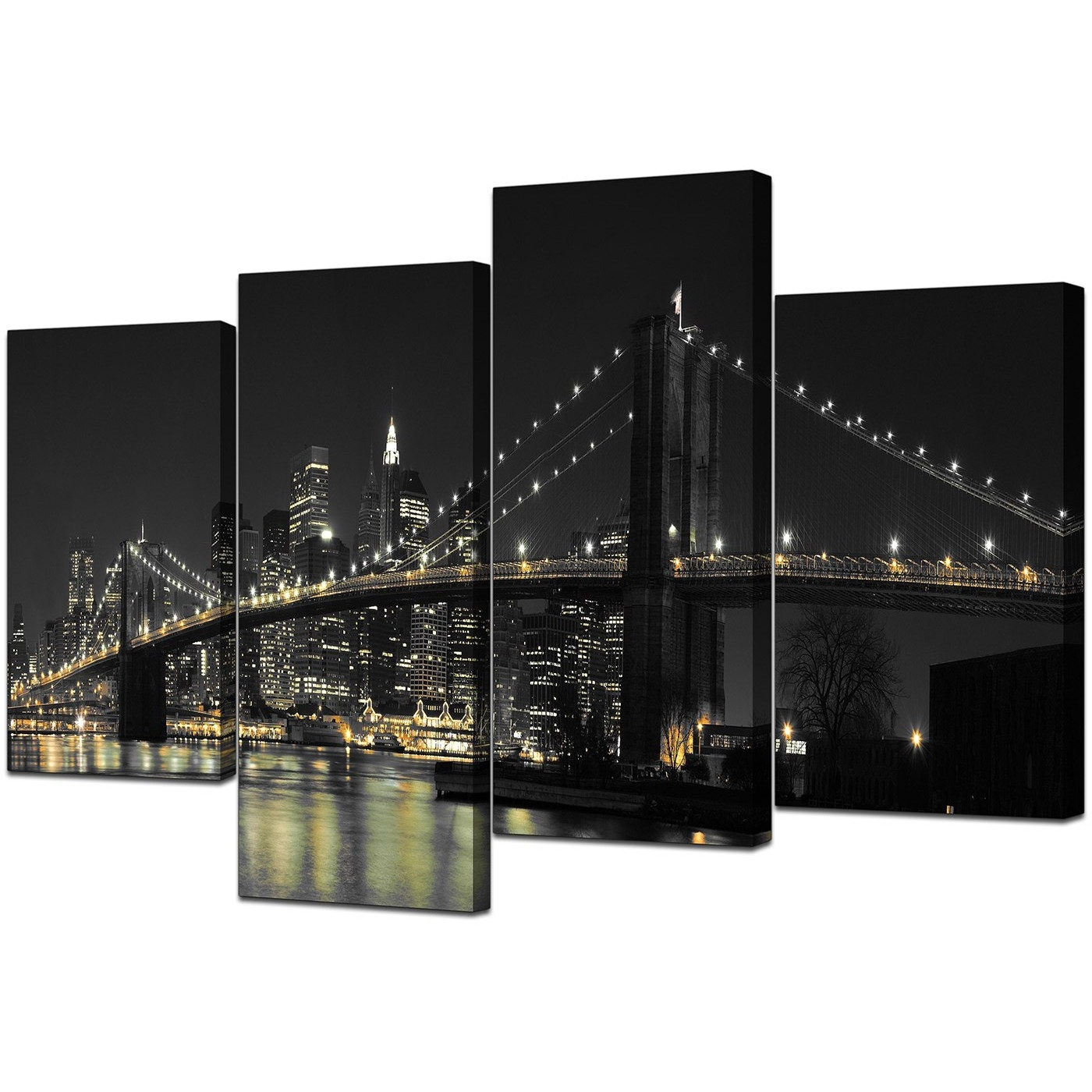 Famous New York Wall Art For Canvas Wall Art Of New York For Your Office – 4 Part (View 6 of 20)