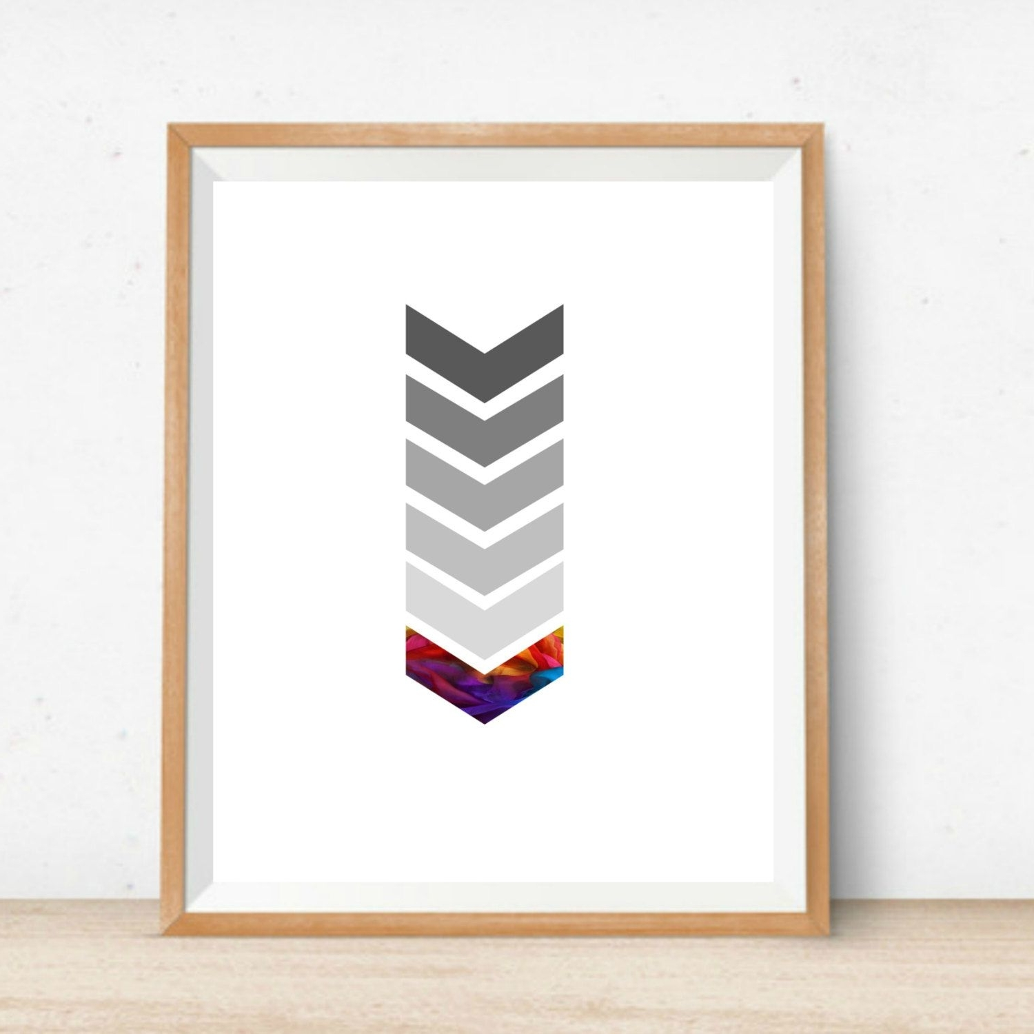 Famous Printable Chevron Wall Art Home Decor Print Instant Download Digital Throughout Chevron Wall Art (View 9 of 20)