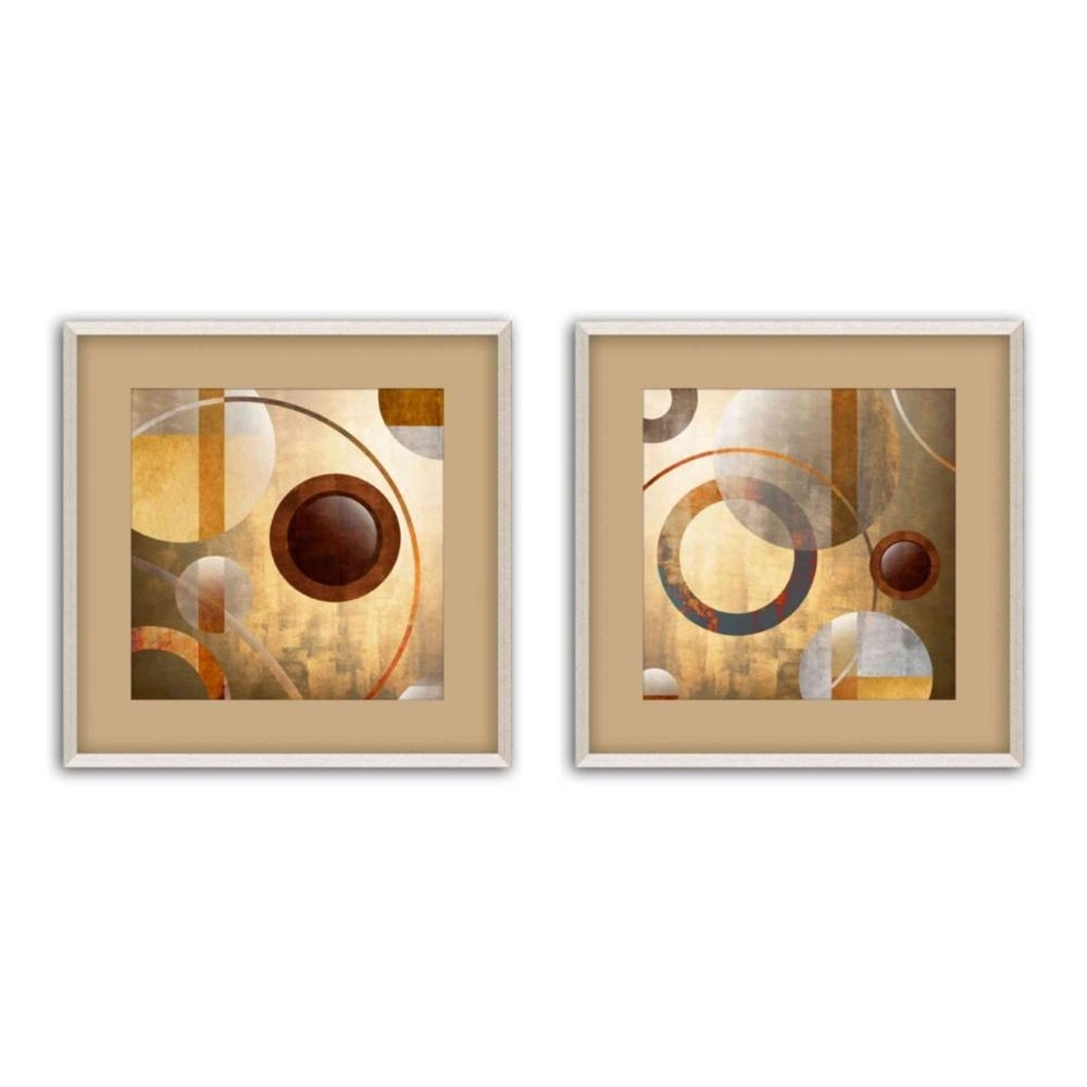 Famous Set Of 2 Framed Wall Art Throughout Ptm Images 17.5 In. X 17.5 In (View 6 of 20)