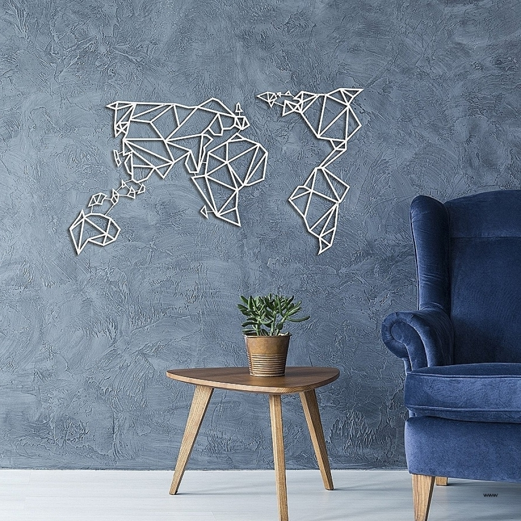 Famous Vertical Metal Wall Art Unique Wall Ideas Wall Art World Map Inside Intended For Vertical Metal Wall Art (Gallery 9 of 20)