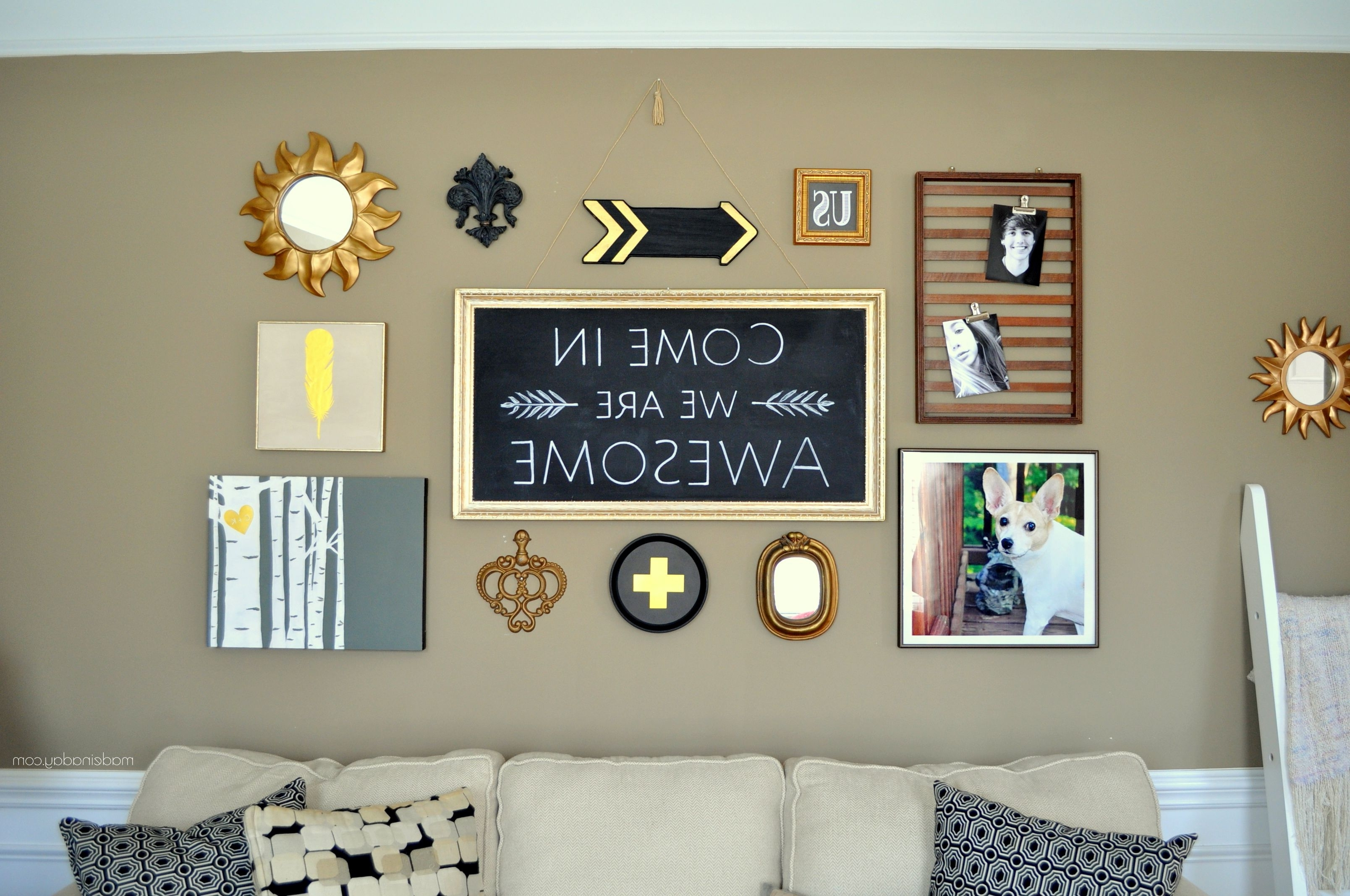 Fashionable Black And Gold Wall Art Regarding I (View 11 of 20)