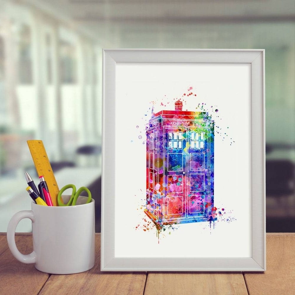 Fashionable Doctor Who Wall Art With Regard To The Best Doctor Who Wall Art, Doctor Who Wall Art – Swinki Morskie (View 11 of 15)