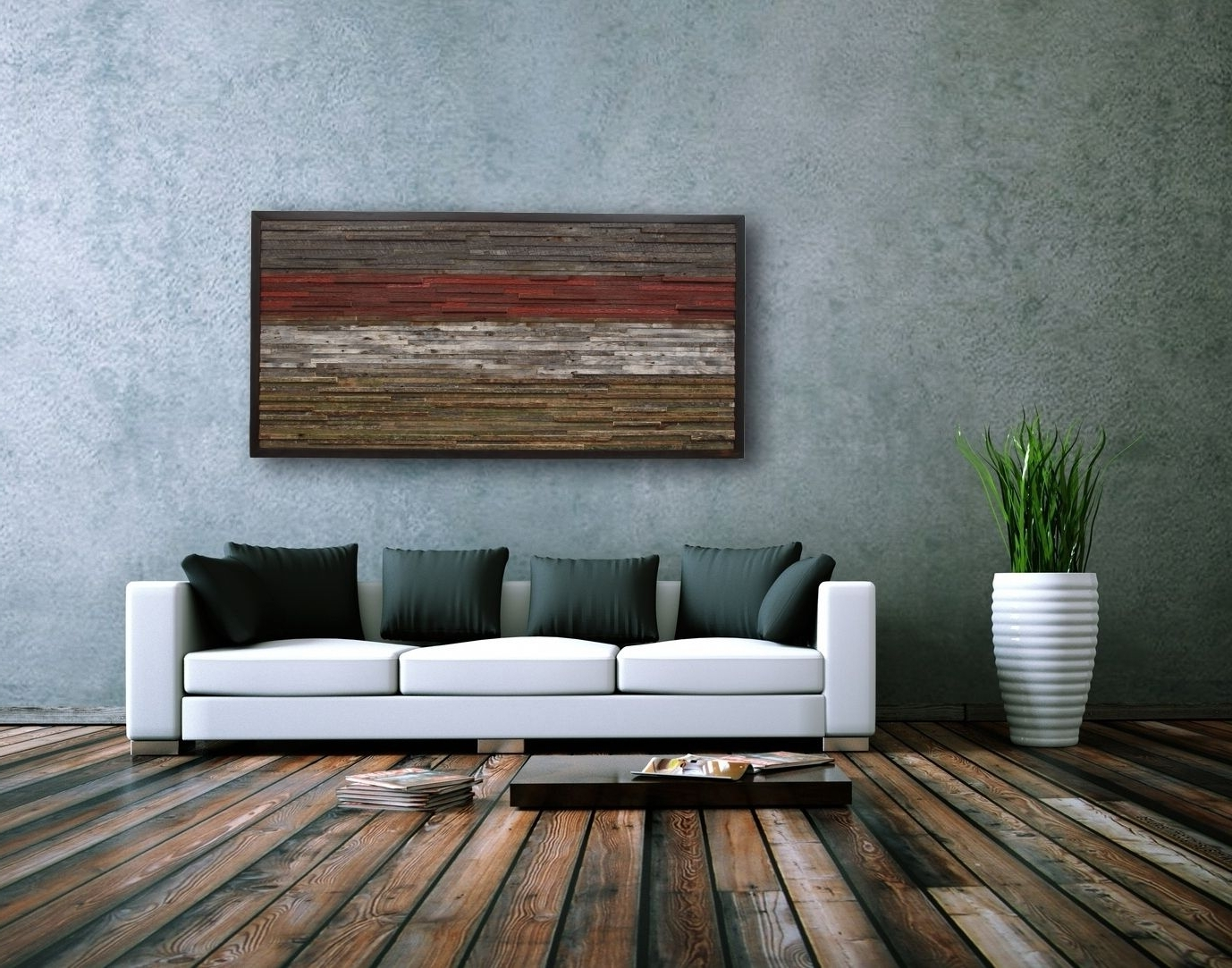 Fashionable Large Rustic Wall Art Inside Astonishing Strikingly Ideas Large Rustic Wall Art With Metal (View 14 of 20)