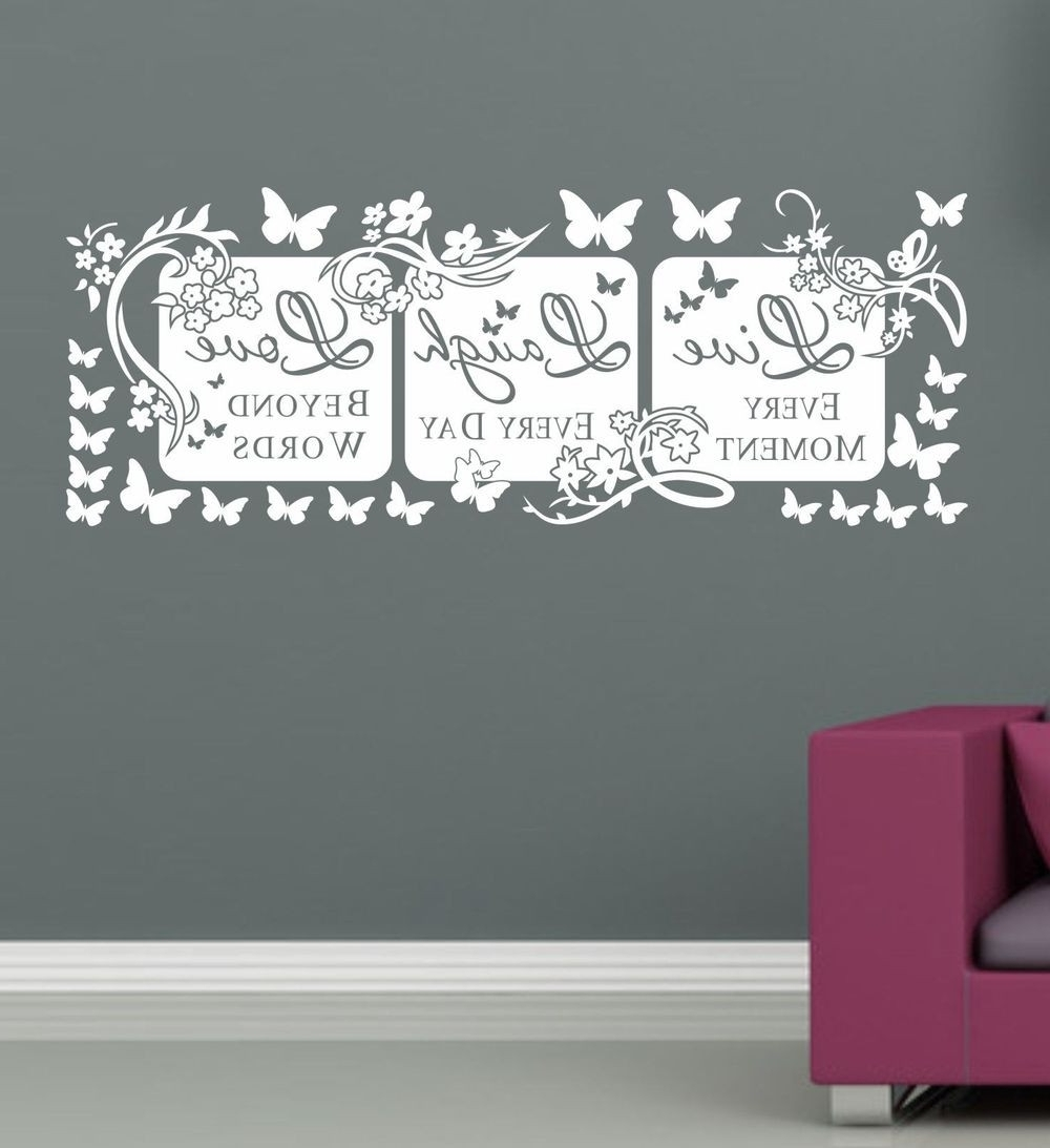 Fashionable Lovely Canvas Wall Art Live Laugh Love (Gallery 15 of 20)