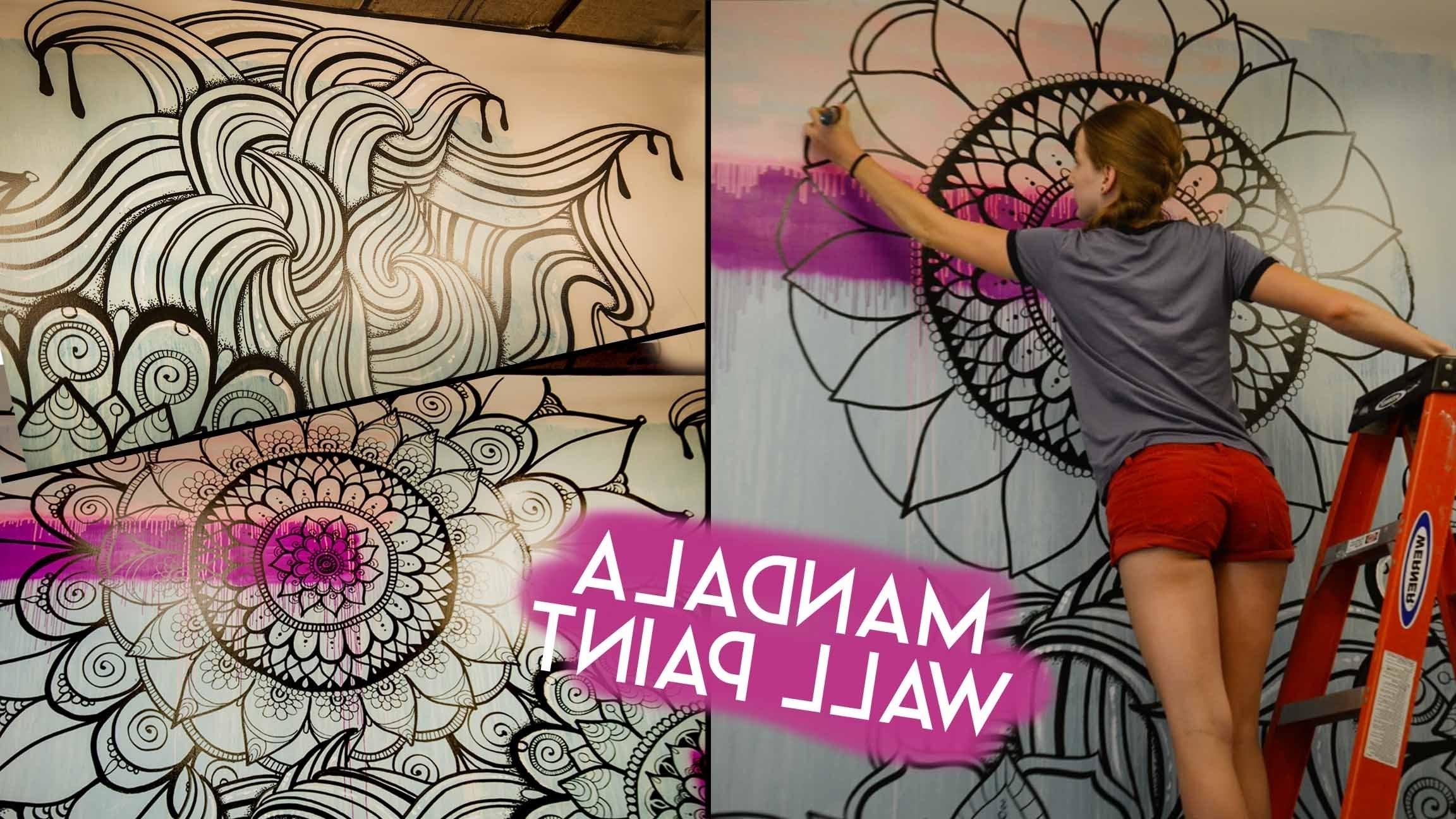 Fashionable Mandala Wall Art In Mandala Wall Art (Gallery 5 of 20)