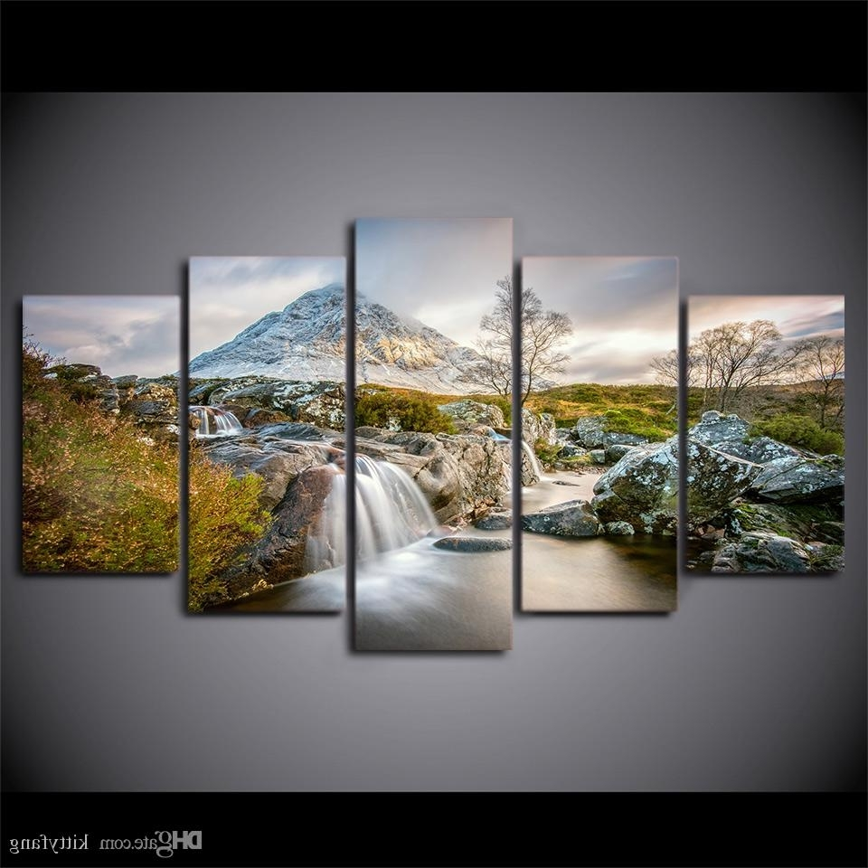 Fashionable Nature Wall Art Throughout 2018 Framed Hd Printed Summer Nature Canvas Painting Wall Art Prints (View 2 of 20)