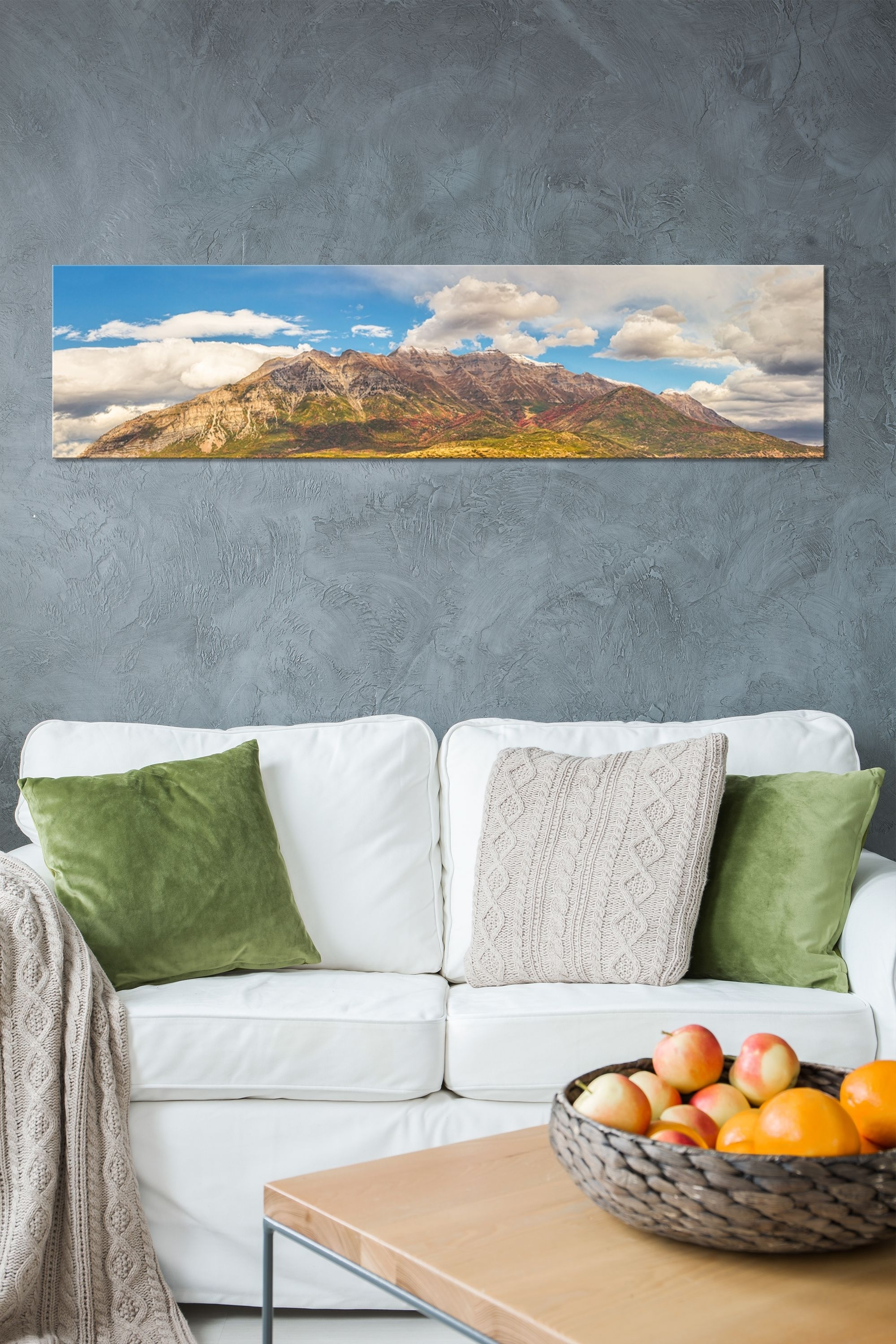 Fashionable Panoramic Wall Art Regarding Autumn Timpanogos (View 4 of 15)