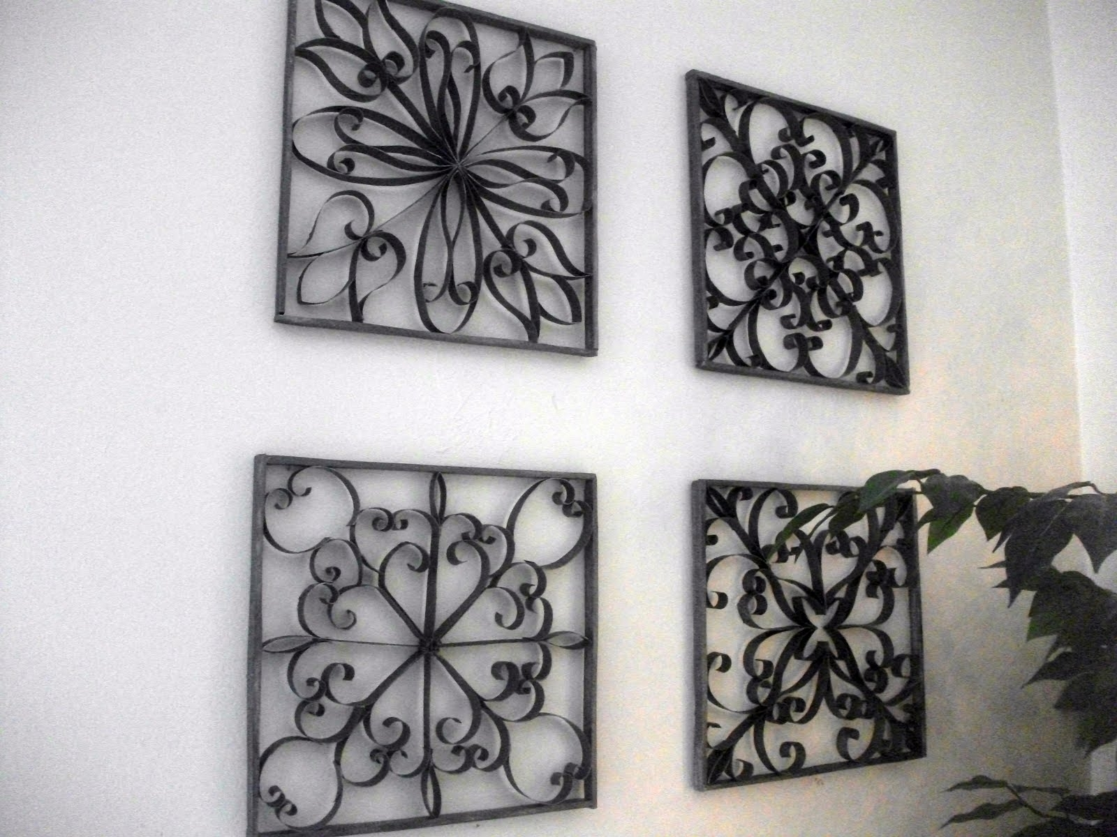 Faux Wrought Iron Wall Art (View 4 of 20)