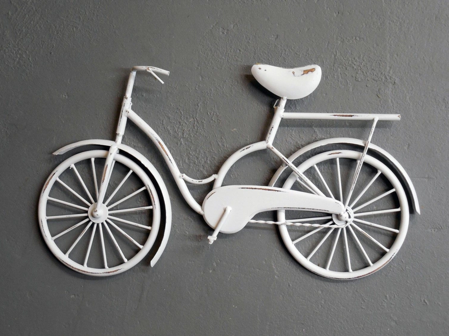 Favorite Bicycle Wall Art/ Wall Decor/bicycle/beach Decor/bicycle Decor Pertaining To Bicycle Wall Art (View 12 of 20)