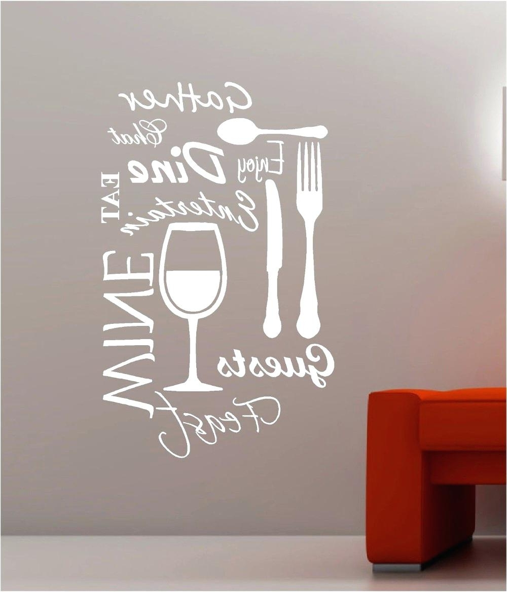 Favorite Custom Wall Word Decals Wall Design Word Art For Walls Inspirations Pertaining To Word Art For Walls (View 6 of 20)