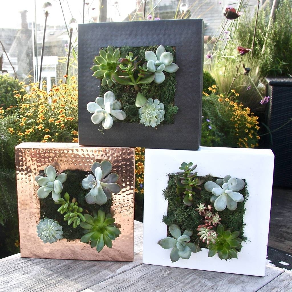 Favorite Herb Wall Art With Living Wall Planterlondon Garden Trading (View 5 of 20)