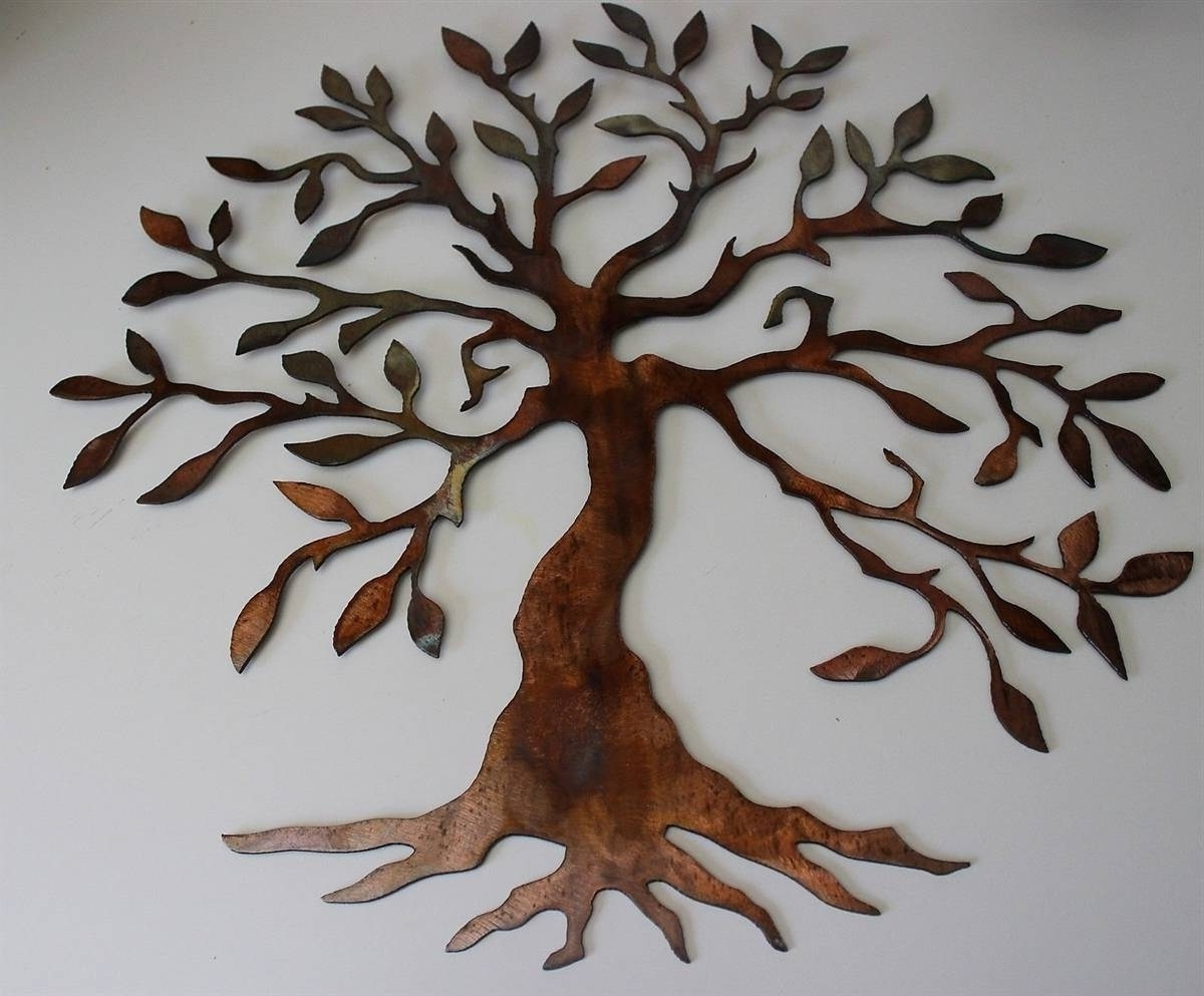 Favorite Tree Of Life Metal Wall Art With Comfortable Outdoor Wall Art Metal Tree Metal Wall Art Hanging (View 5 of 20)