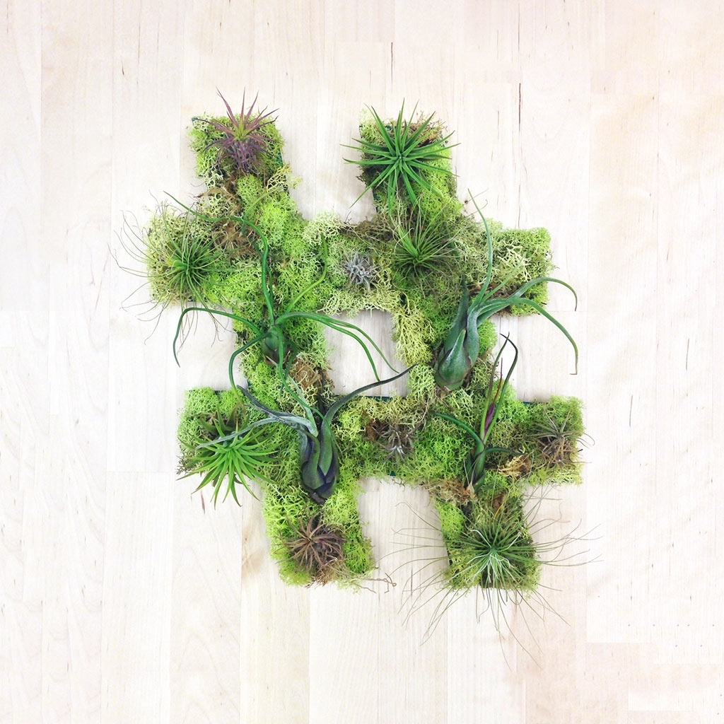Favorite Unique Living Wall Plant Decor From Art We Heart – Design Milk Inside Living Wall Art (Gallery 9 of 20)